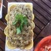 Közde Sarımsaklı, Kaşarlı Patlıcan Salatası