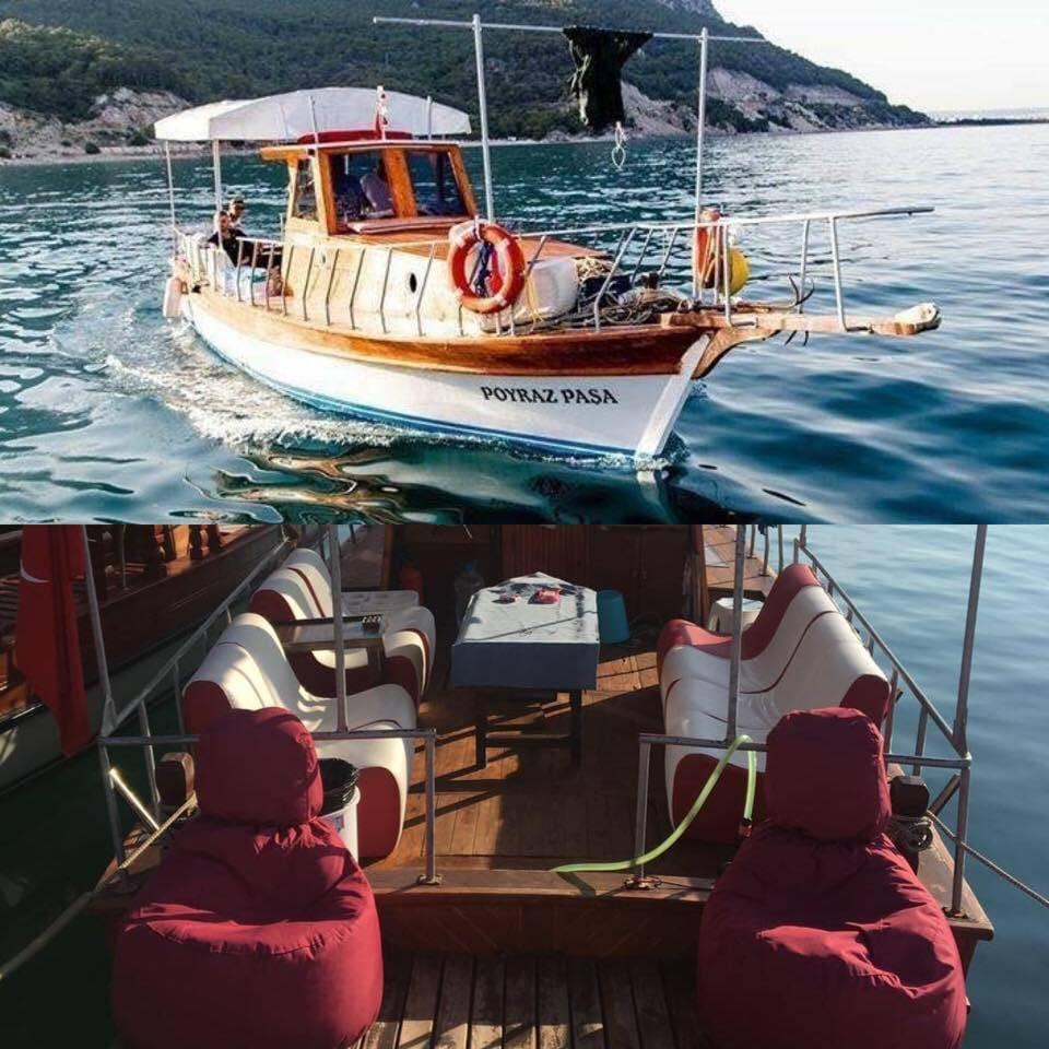 Poyraz Paşa Teknesi - Antalya Balık Avı Turları