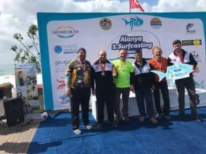 1.Alanya Surfcasting Turnuvası