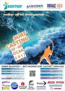 1.Batı Akdeniz Surfcasting Turnuvası