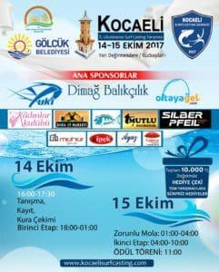 1.Kocaeli Surfcasting Turnuvası