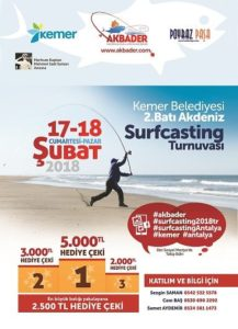 2.Batı Akdeniz Surfcasting Turnuvası