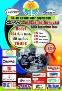 2.Doğu Akdeniz Surfcasting Turnuvası - Adana Yumurtalık