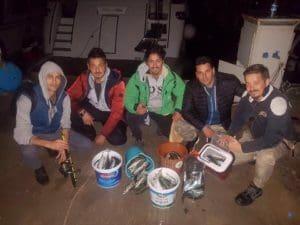 Antalya Gece Tekne ile Kolyoz Avı