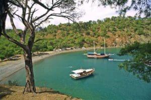 Alacasu Cennet Koyu Tekne Gezisi