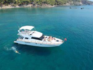 Antalya Motoryat Kiralama, Günübirlik Tekne Gezisi