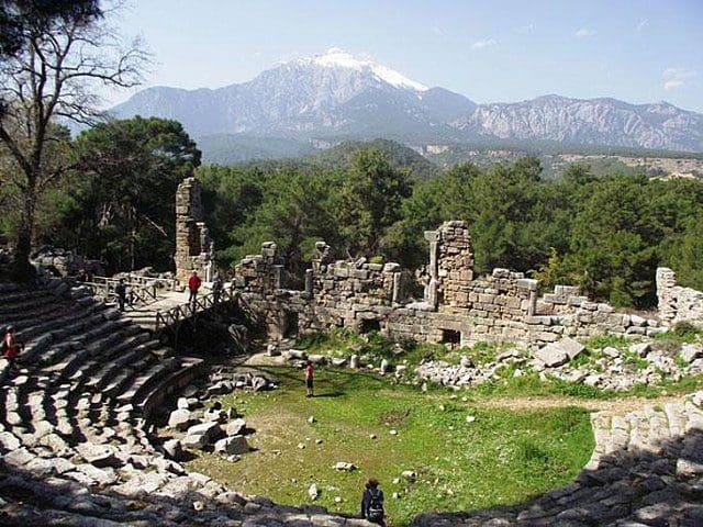 Phaselis Antik Kenti - Kemer Antalya
