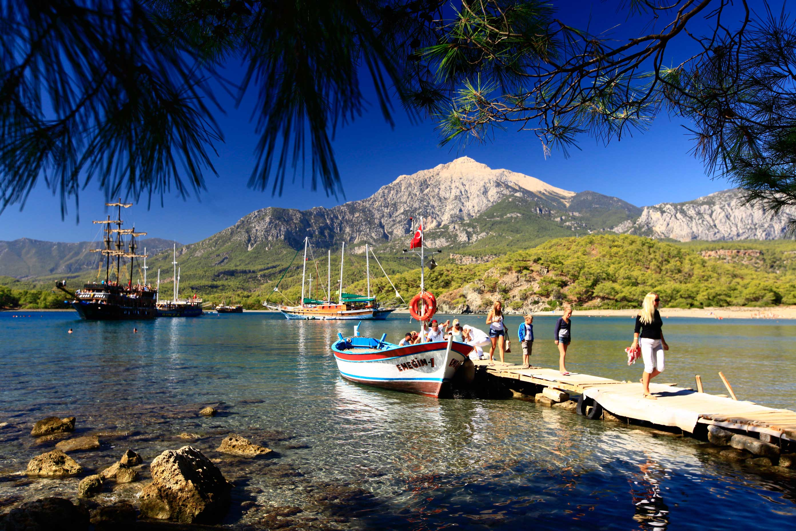 Phaselis Tekne Gezisi - Kemer Antalya