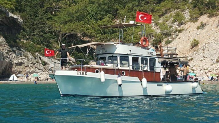 Antalya Kiralık Gezi Teknesi- Fire - Trawler - Poyraz Paşa Yatçılık