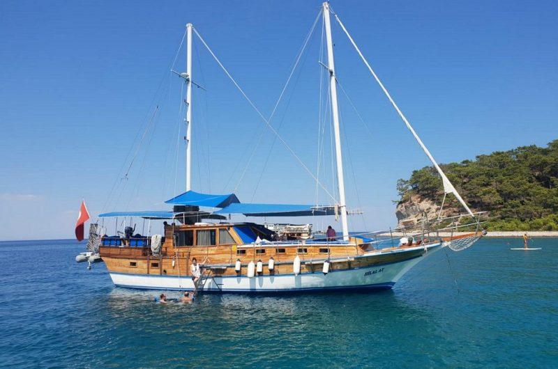 Antalya Yatılı Tekne Gezisi - Gulet Kiralama